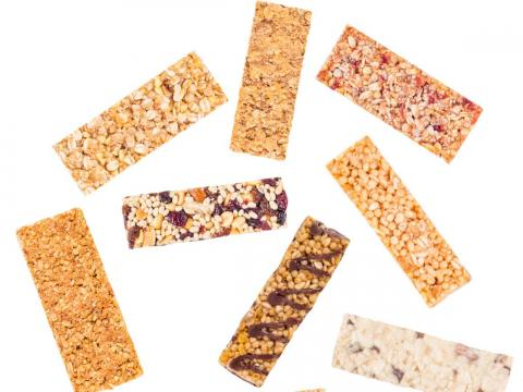 Las barras de granola son básicamente barras de caramelo.