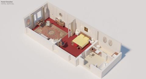 """Así son por dentro 7 de las habitaciones de hoteles más famosas de la historia del cine"""""""