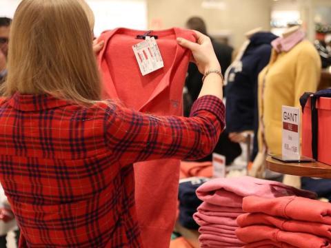 I actually enjoy shopping for clothes now.