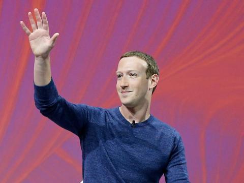 Facebook cofounder and CEO Mark Zuckerberg.