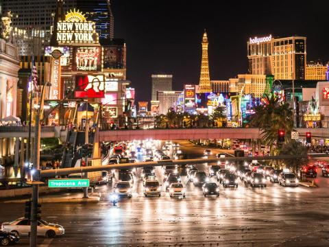 If you opt to take a car instead, the traffic near the Strip has been known to rival Los Angeles at rush hour.