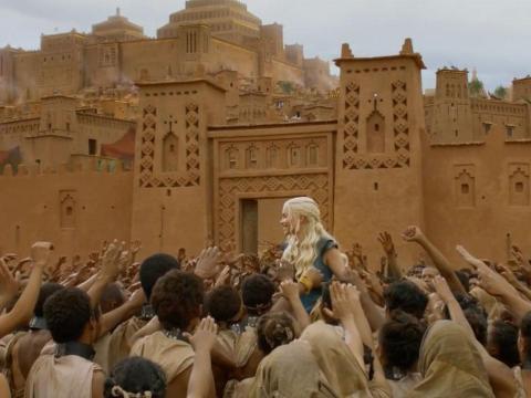 """Si alguna vez has visto a Daenerys Targaryen conquistar la ciudad de Yunkai en """"Juego de Tronos""""..."""
