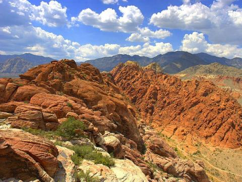 This includes the Red Rock Canyon National Conservation Area ...