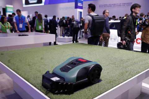 The Indego S+ autonomous lawn mower is like a Roomba, but for your grass.