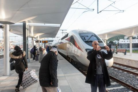 It's easy to be dismissive about the prestige factor, but I saw the excitement on Moroccan passengers first-hand, as many took selfies of themselves in front of the train.
