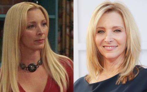 """La gran oportunidad de Lisa Kudrow fue hacer de la incomparable Phoebe Buffay en """"Friends""""."""
