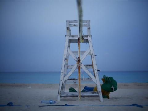 Locals blame rapidly increasing tourism for the damage that's been done to Cancún's beaches.
