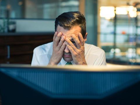 Muchos trabajadores se frustran cuando no ascienden.