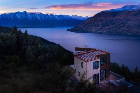 """El """"LUC 22 Boutique Alpine Retreat"""" en Queenstown, Nueva Zelanda, fue muy popular el año pasado."""