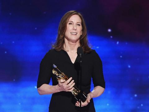 Lucasfilm executive Kathleen Kennedy.