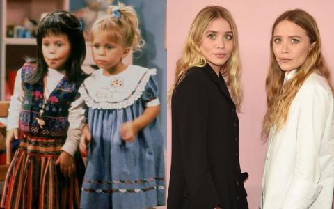 """Mary-Kate y Ashley Olsen compartieron el papel de Michelle Tanner en """"Full House"""", que fue solo el comienzo de sus carreras infantiles."""