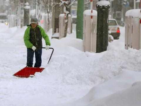 On more local roads and city streets, residents can either shovel and plow themselves or find a contractor to do the job for them.