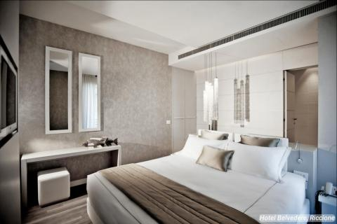 """The most luxurious travelers will want to stay in the hotel's """"Glamour Rooms."""""""