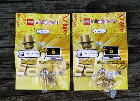 Mr Gold Lego