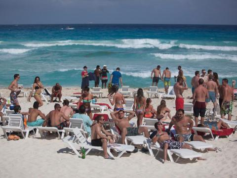 MTV's annual beach celebration drew college students from all over the US…