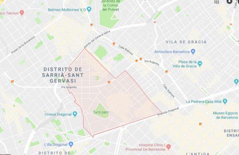 Muntaner. Barcelona.