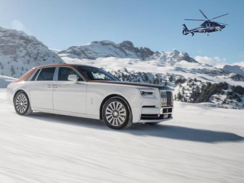 The new Rolls-Royce Phantom.
