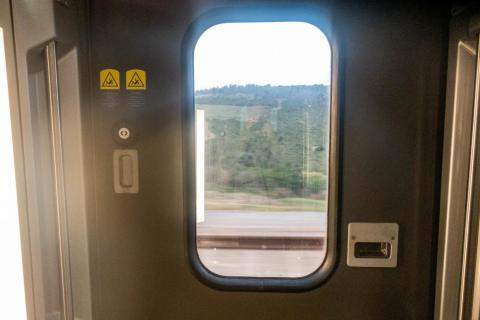 With no stops until Kenitra, 128 miles to the south of Tangier and almost all the way to the capital of Rabat, the train quickly picks up speed.