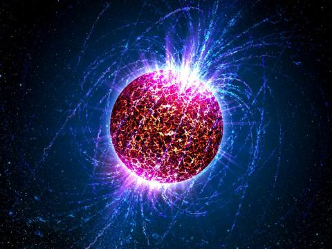 One teaspoon of a neutron star is equal to the weight of about 900 Pyramids of Giza.