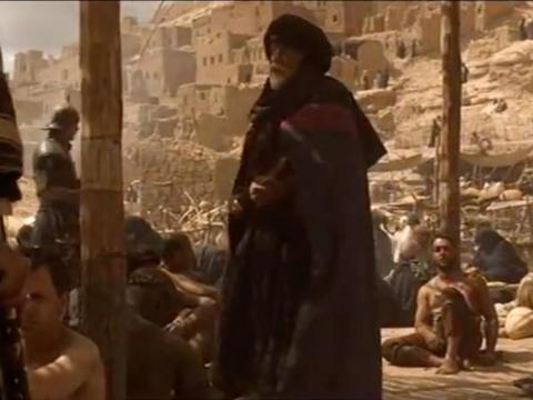 "... o has visto a Máximo Décimo Meridio convertirse en un esclavo y gritar ""¿No se están divirtiendo?"" a un coliseo de romanos sanguinarios..."