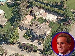 La casa de 596 metros cuadrados del director ejecutivo de Oracle, Mark Hurd, en Atherton, California, se vendió por poco más de 7 millones de dólares en 2005.