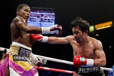 Pacquiao's tactics were punch perfect.