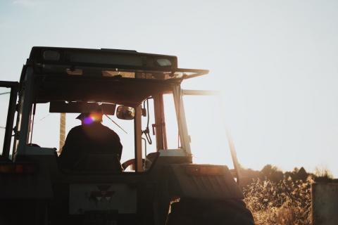 Agricultor- tractor