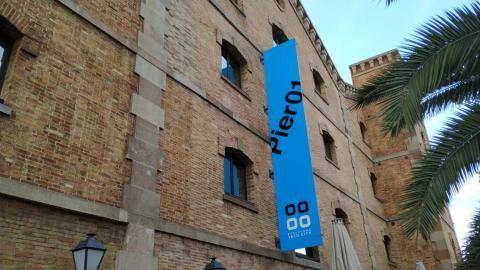 Fachada de Pier01, sede de Barcelona Tech.