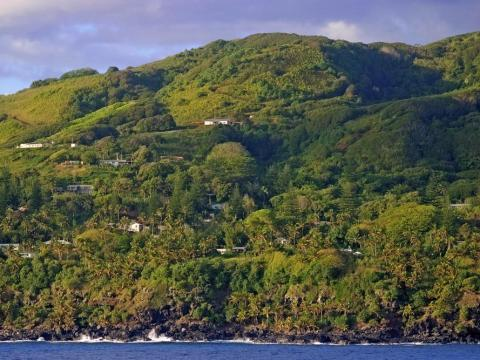El asentamiento en la isla la fundaron amotinados.