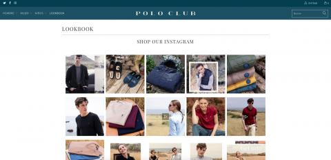Captura de pantalla Polo Club.