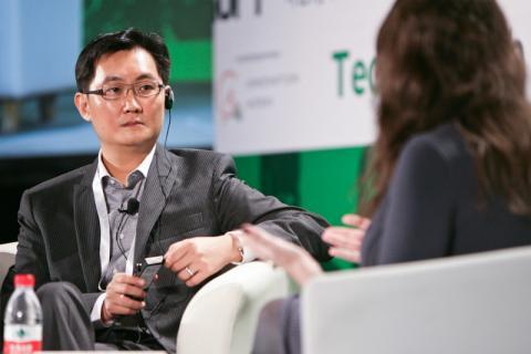 El presidente de Tencent, Pony Ma