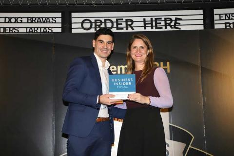 El Premio Especial Business Insider a la Innovación ha recaído en Huawei