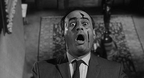 Escena de la película Psicosis (1960).