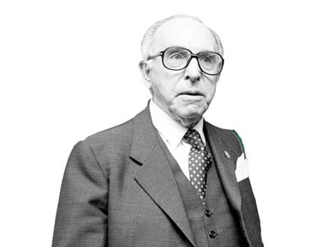 Ramón Areces, segundo presidente de El Corte Inglés.