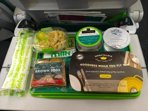Today, in-flight meals are usually reserved for international long haul flights.