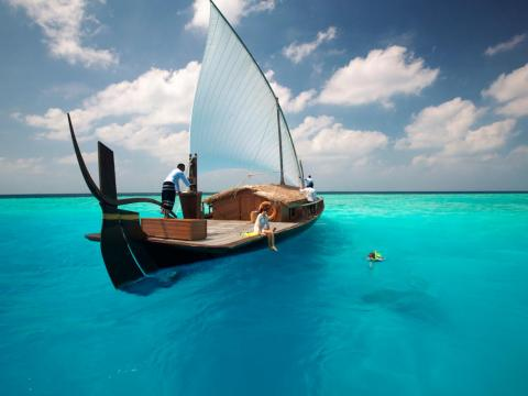 ... to a sailing expedition on the Nooma, a traditional Maldivian sailing vessel.