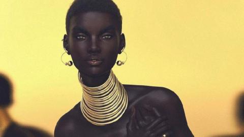 Shudu, una supermodelo virtual de facciones y cuerpo perfecto que ya cuenta con más de 154.000 seguidores en Instragram