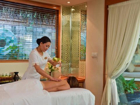 Spa services range from manicures ($95) and pedicures ($115) to full-body mud wraps ($205) and 12 different types of massages ($145-$215).