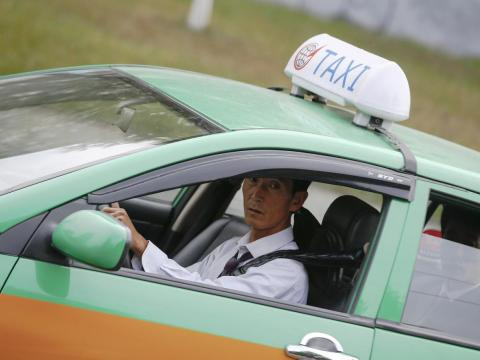Taxis are around too, but mostly used by North Korea's richest citizens.