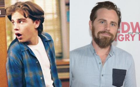 """Su papel de Rider Strong rompió corazones como el chico malo de """"Shawn Hunter""""."""