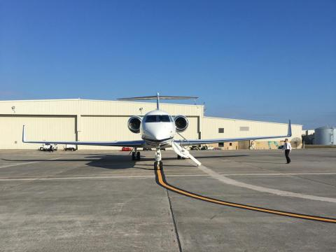 There are currently more than 560 G550s in service around the world.