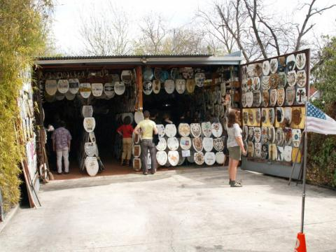 There's a museum dedicated to toilet seat art in Texas.