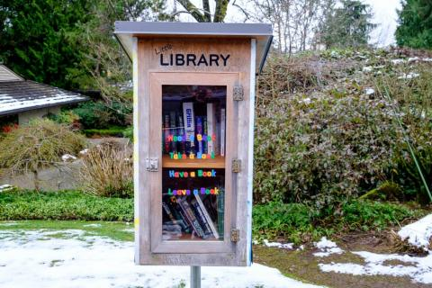 "These ""lending libraries"" were dotted on some of the streets, and the town is filled with expansive and beautiful parks."