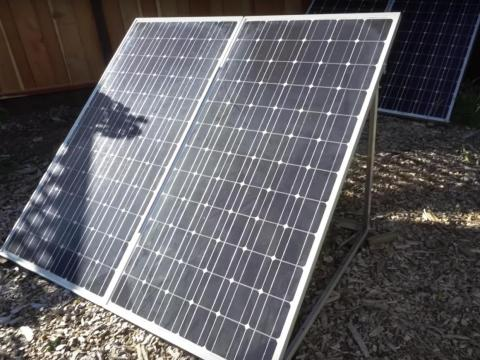 Solar panels are a sustainable way to get more energy.