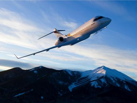 Those include the Bombardier Global 5000, ...