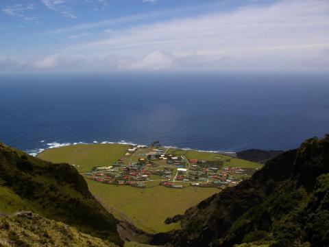 La isla Tristán de Acuña.