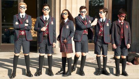 'The Umbrella Academy'.