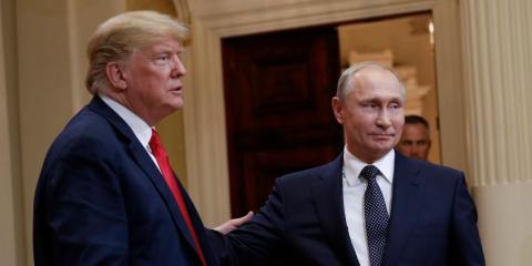 Trump el President ruso Vladimir Putin.