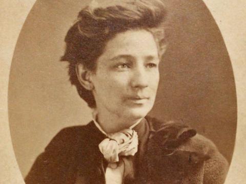 Victoria Woodhull en 1860.