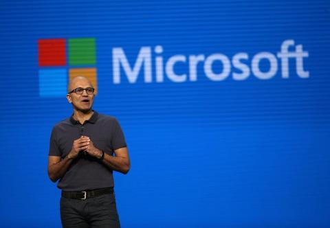 Microsoft CEO Satya Nadella.
